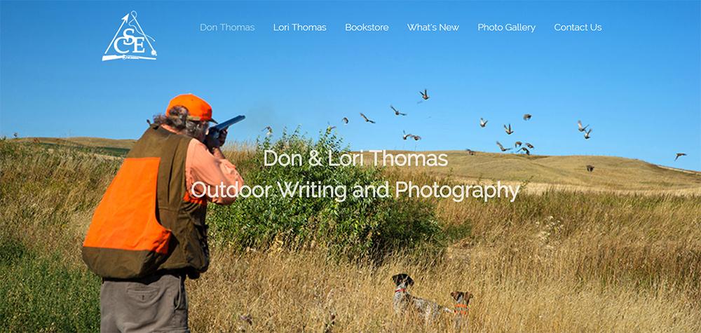 Don & Lori Thomas books and photography